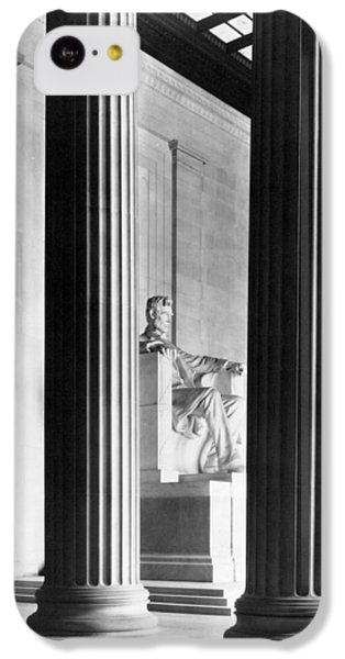 The Lincoln Memorial IPhone 5c Case by War Is Hell Store