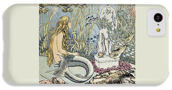 The Little Mermaid IPhone 5c Case by Ivan Jakovlevich Bilibin
