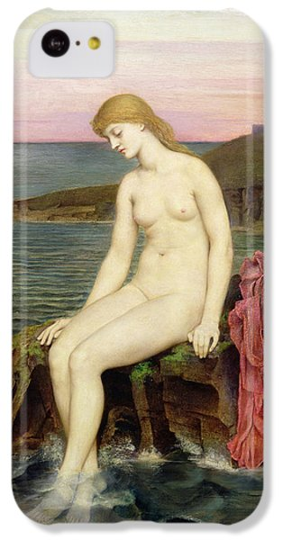 The Little Sea Maid  IPhone 5c Case by Evelyn De Morgan