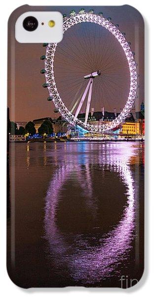 The London Eye IPhone 5c Case by Nichola Denny