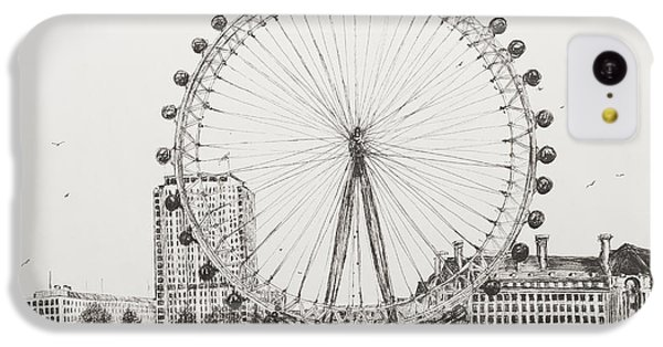The London Eye IPhone 5c Case by Vincent Alexander Booth