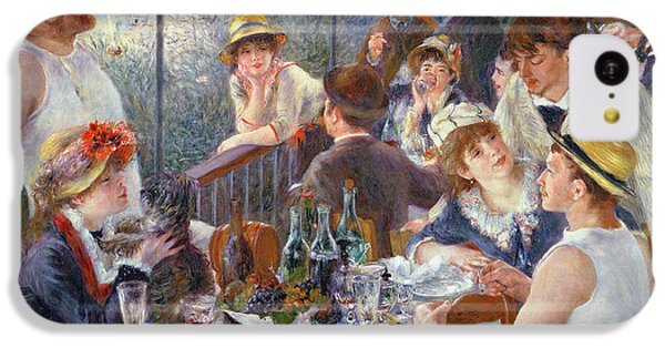 The Luncheon Of The Boating Party IPhone 5c Case by Pierre Auguste Renoir