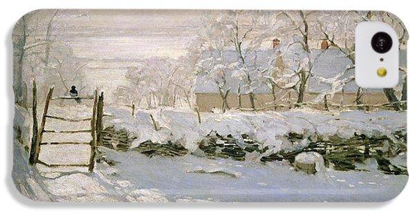 The Magpie IPhone 5c Case by Claude Monet