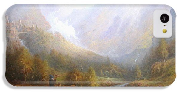 The Misty Mountains IPhone 5c Case by Joe  Gilronan