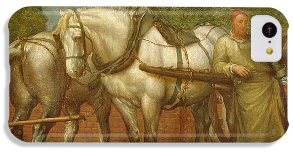 The Noonday Rest  IPhone 5c Case by George Frederick Watts