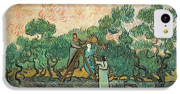 The Olive Pickers IPhone 5c Case by Vincent van Gogh