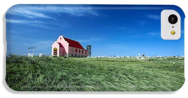 The Pink Church IPhone 5c Case by Todd Klassy