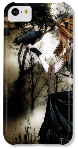 The Raven IPhone 5c Case by Shanina Conway