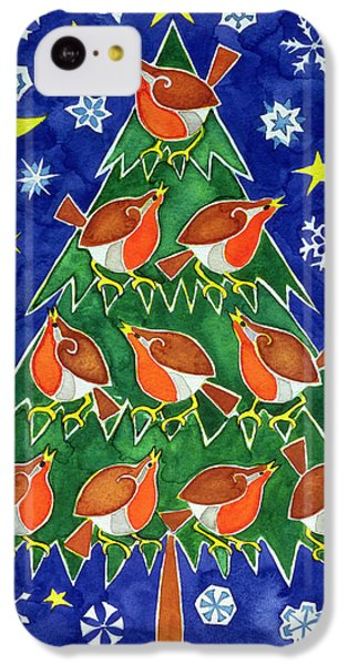 The Robins Chorus IPhone 5c Case by Cathy Baxter