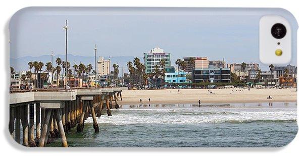 The South View Venice Beach Pier IPhone 5c Case by Ana V Ramirez