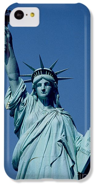 The Statue Of Liberty IPhone 5c Case by American School