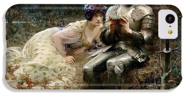 The Temptation Of Sir Percival IPhone 5c Case by Arthur Hacker