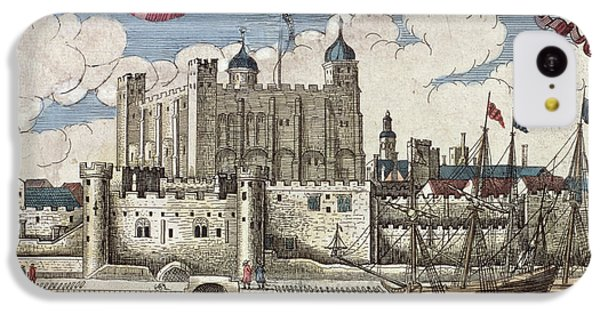 The Tower Of London Seen From The River Thames IPhone 5c Case by English School