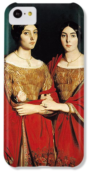 The Two Sisters IPhone 5c Case by Theodore Chasseriau