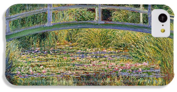 The Waterlily Pond With The Japanese Bridge IPhone 5c Case by Claude Monet