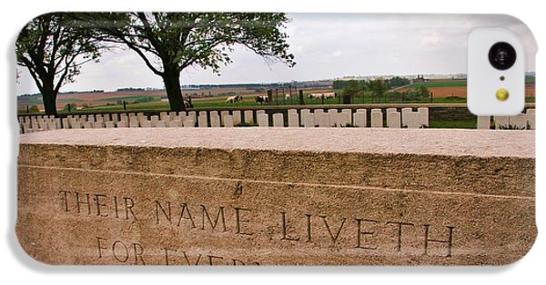 IPhone 5c Case featuring the photograph Their Name Liveth For Evermore by Travel Pics