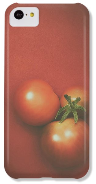 Three Cherry Tomatoes IPhone 5c Case by Scott Norris
