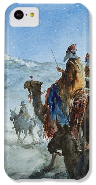 Three Wise Men IPhone 5c Case by Henry Collier