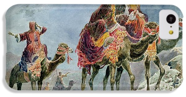 Three Wise Men IPhone 5c Case by Sydney Goodwin