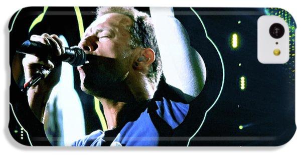 Chris Martin - A Head Full Of Dreams Tour 2016  IPhone 5c Case by Tanya Filichkin