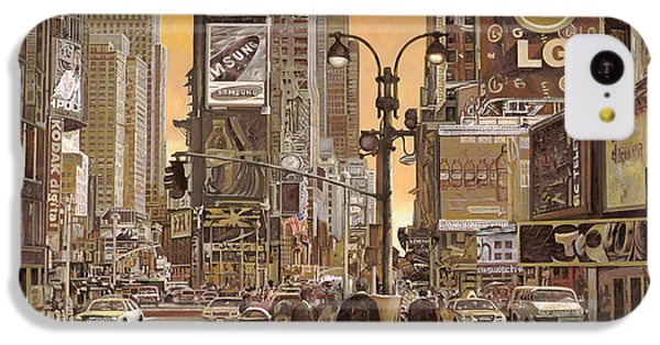Times Square IPhone 5c Case by Guido Borelli