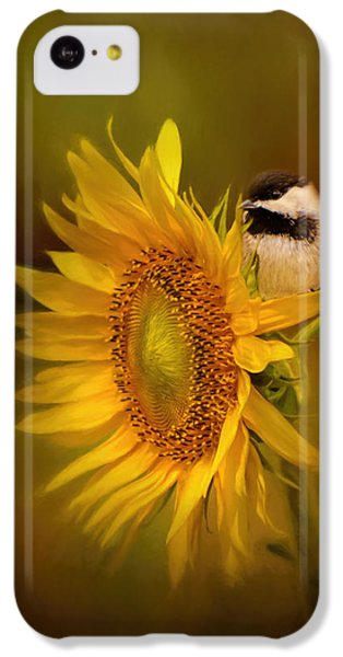 Tiny Surprise Bird Art IPhone 5c Case by Jai Johnson