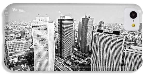 Tokyo Skyline IPhone 5c Case by Pravine Chester