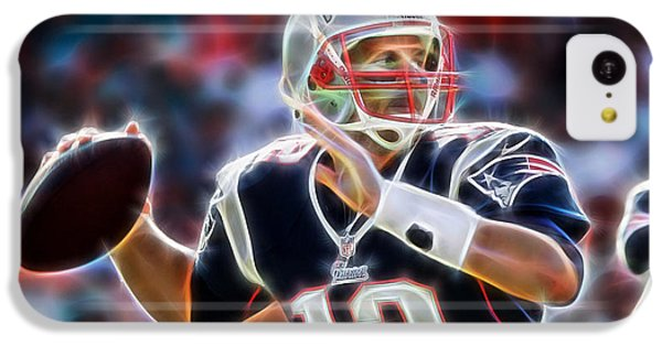 Tom Brady Collection IPhone 5c Case by Marvin Blaine