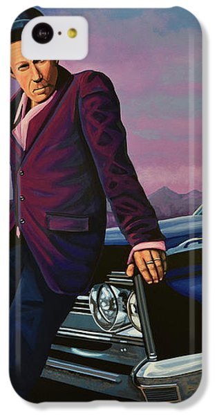 Tom Waits IPhone 5c Case by Paul Meijering