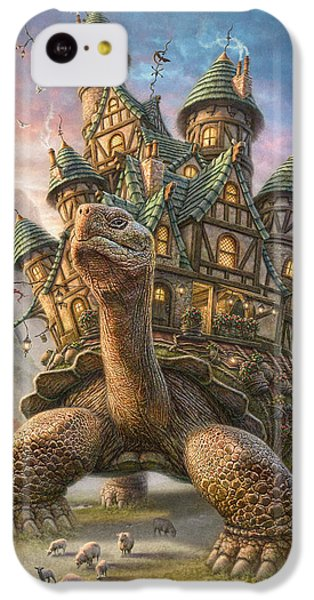 Tortoise House IPhone 5c Case by Phil Jaeger