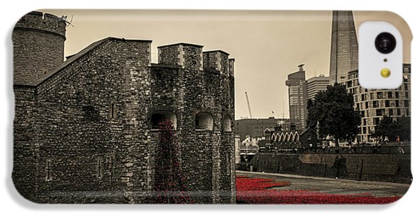 Tower Of London IPhone 5c Case by Martin Newman