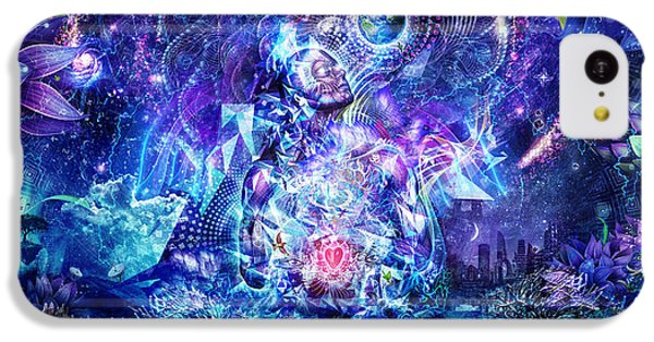 Transcension IPhone 5c Case by Cameron Gray