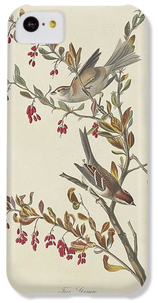Tree Sparrow IPhone 5c Case by John James Audubon
