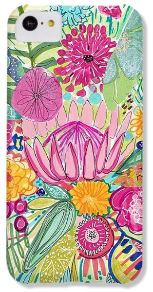 Tropical Foliage IPhone 5c Case by Rosalina Bojadschijew