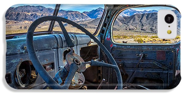 Truck Desert View IPhone 5c Case by Peter Tellone