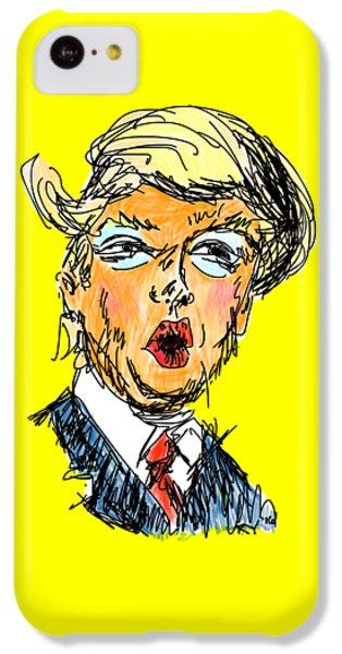 Trump IPhone 5c Case by Robert Yaeger
