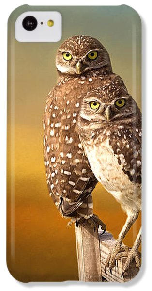 Two Of Us IPhone 5c Case by Kim Hojnacki