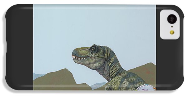 Tyranosaurus Rex IPhone 5c Case by Jasper Oostland