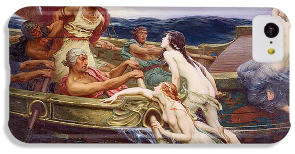 Ulysses And The Sirens IPhone 5c Case by Herbert James Draper