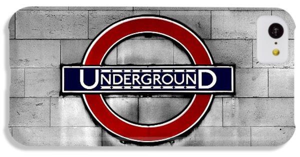 Underground IPhone 5c Case by Mark Rogan