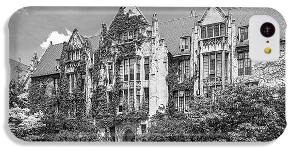 University Of Chicago Eckhart Hall IPhone 5c Case by University Icons