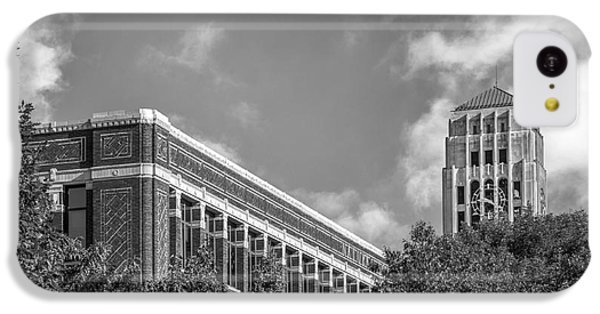 University Of Michigan Natural Sciences Building With Burton Tower IPhone 5c Case by University Icons