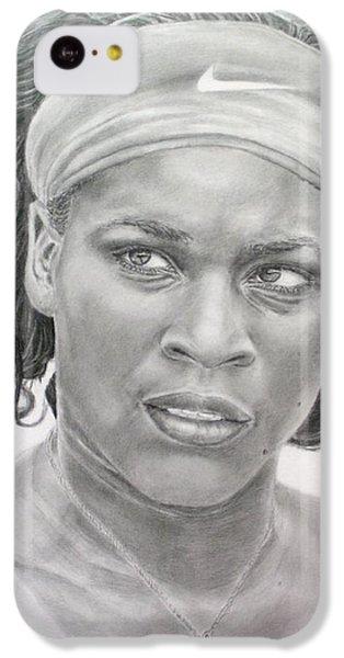 Venus Williams IPhone 5c Case by Blackwater Studio