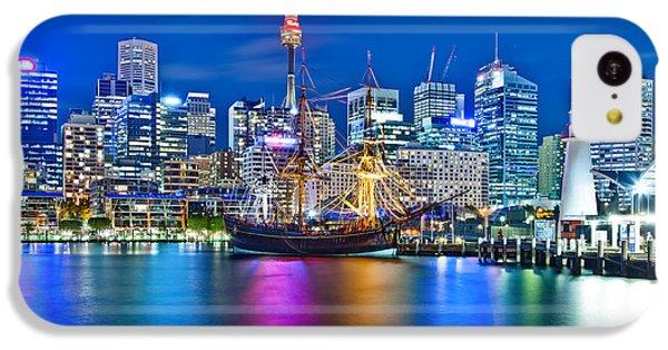 Vibrant Darling Harbour IPhone 5c Case by Az Jackson