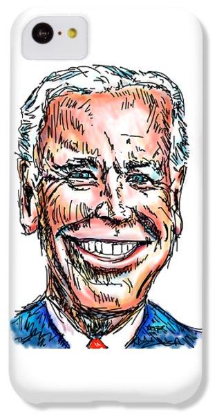 Vice President Joe Biden IPhone 5c Case by Robert Yaeger