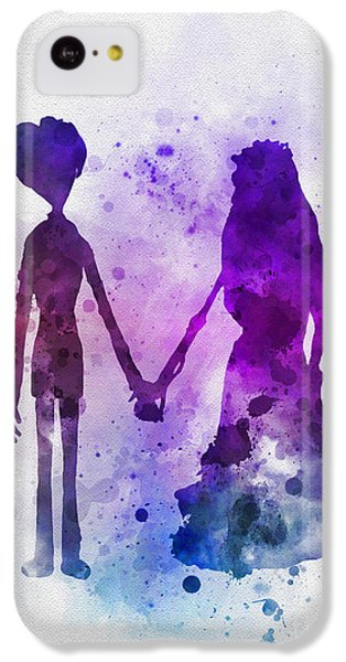 Victor And Emily IPhone 5c Case by Rebecca Jenkins