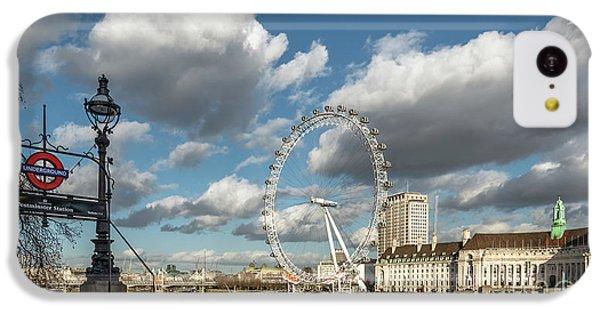 Victoria Embankment IPhone 5c Case by Adrian Evans