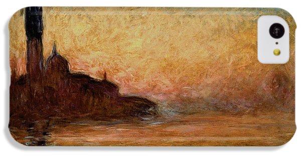 View Of San Giorgio Maggiore IPhone 5c Case by Claude Monet