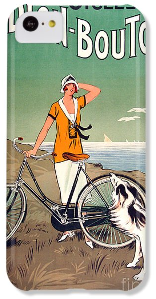 Vintage Bicycle Advertising IPhone 5c Case by Mindy Sommers