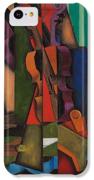 Violin And Guitar IPhone 5c Case by Juan Gris